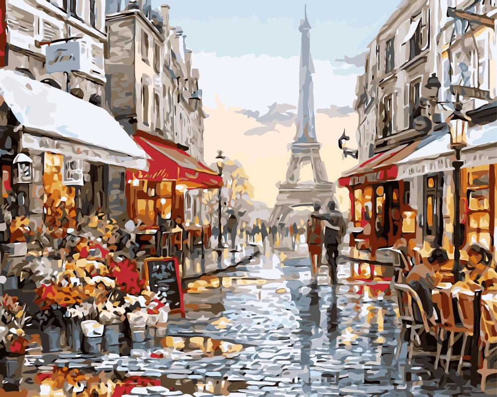 Париж после дождя - GX8090