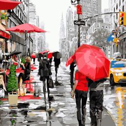 Дождь в Нью-Йорке - GX8091
