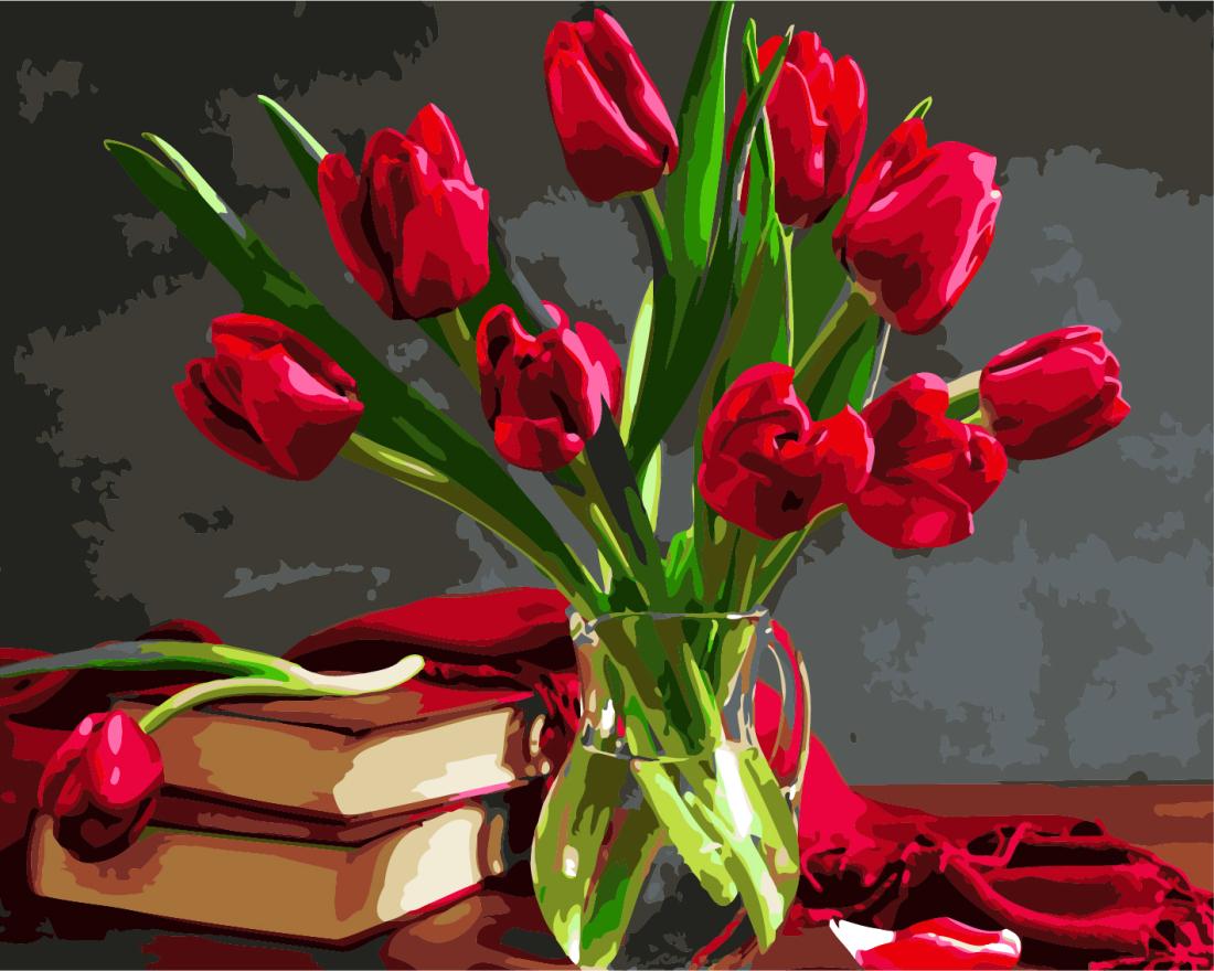 Букет тюльпанов - GX8115