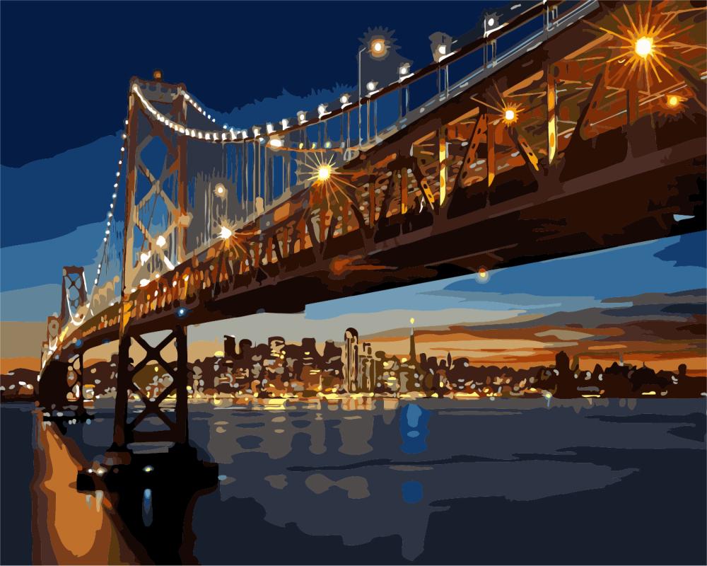 Ночной Сан-Франциско - GX8127