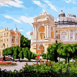 Одесса Оперный театр летом - GX8851