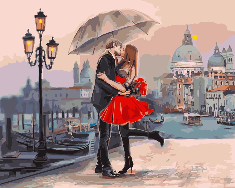 Пара в Венеции - GX9991