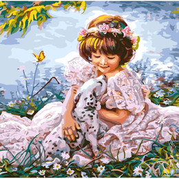 Девочка с далматинцем - GX8553