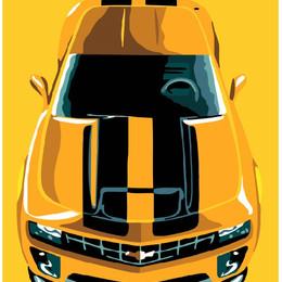 Желтое авто - GX7638