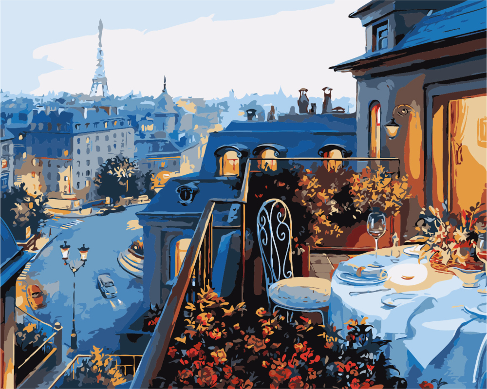 Вид на Париж - GX7255