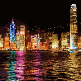 Ночной Гонконг - GX7256