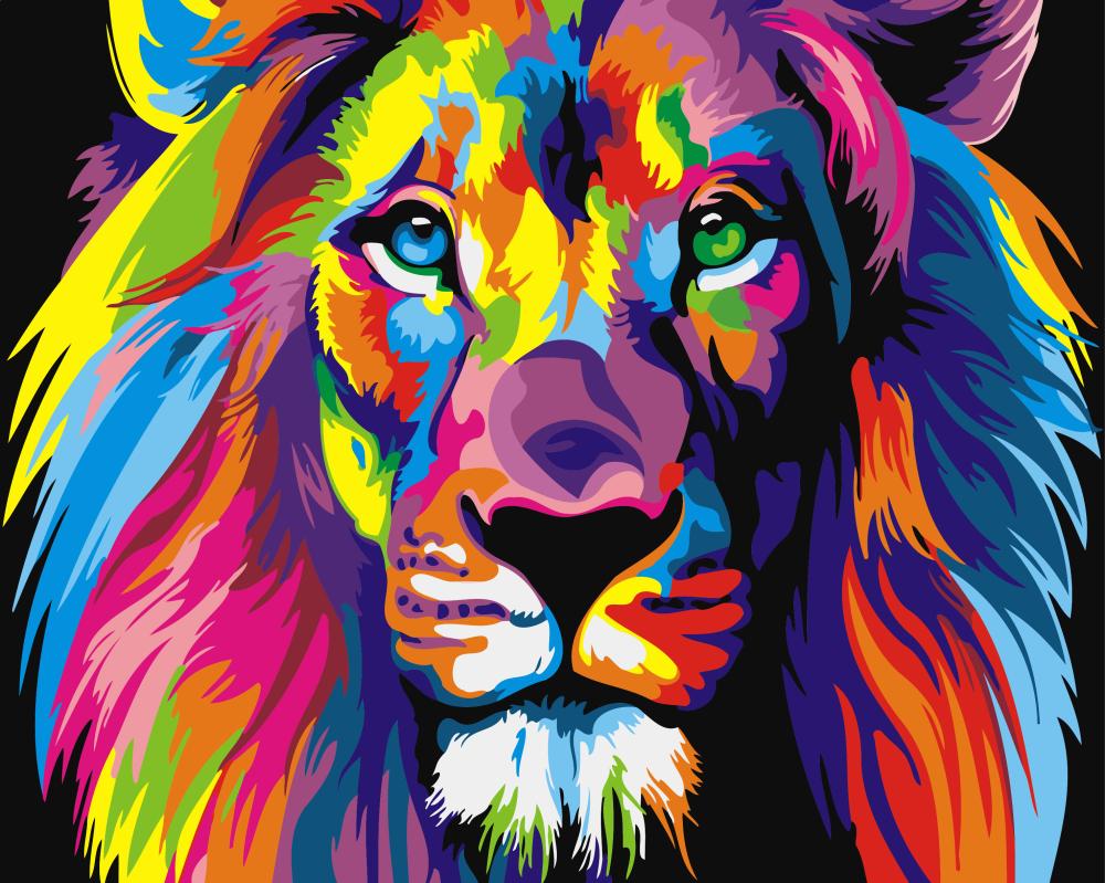 Радужный лев - GX8999