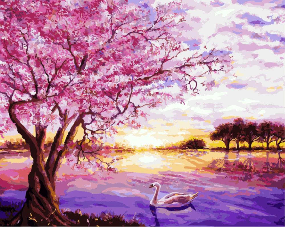 Купить картину: Сакура, G009 | Brushme — Картины по номерам