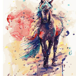 Фантастическая лошадь - G108