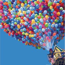 Полет на воздушных шариках - G396
