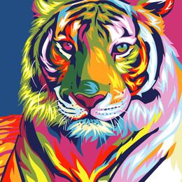 Тигр поп арт - GX9203