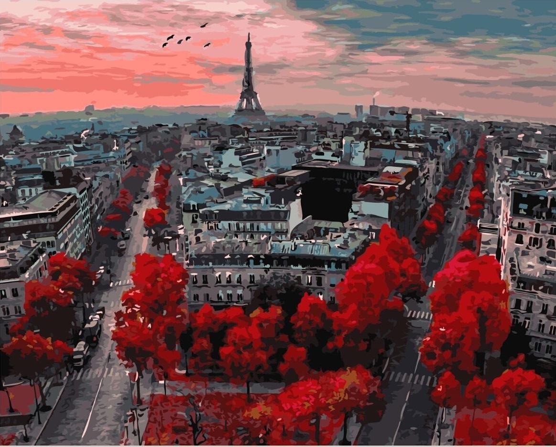 Алые краски Парижа - GX4887