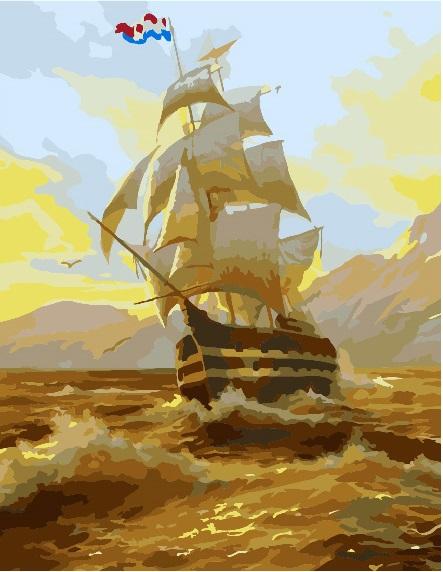 Корабль на рассвете - GX7278