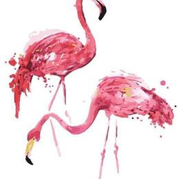 Пара фламинго - G472