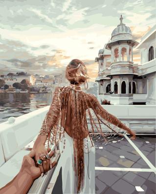 Следуй за мной.Озеро Удайпур - GX21872