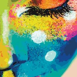 Женщина в красках - GX21715