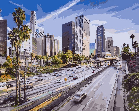 Лос-Анджелес - GX7967