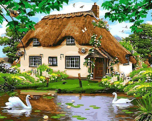 Сельский домик - GX8291