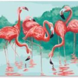 Фламинго у пруда - GT61110