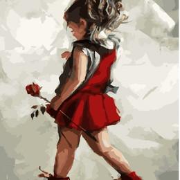 Девочка с розой - GX8381