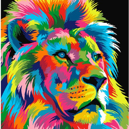 Радужный царь зверей - GX9053