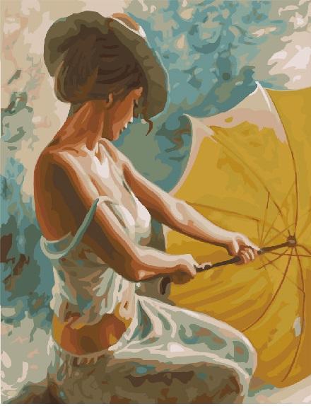 Мисс с зонтом - GX22337