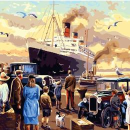 Титаник у порта - GX22400