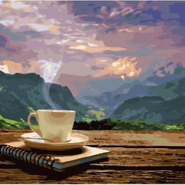 Утро с видом на горы - GX24686