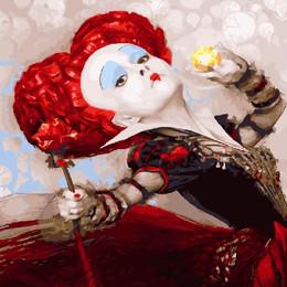 Крассная королева - GX25241