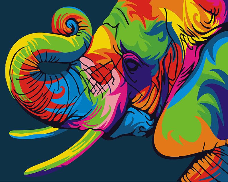 Радужный слон - GX26196