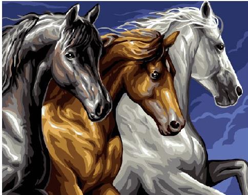 Трио лошадей - GEX5268
