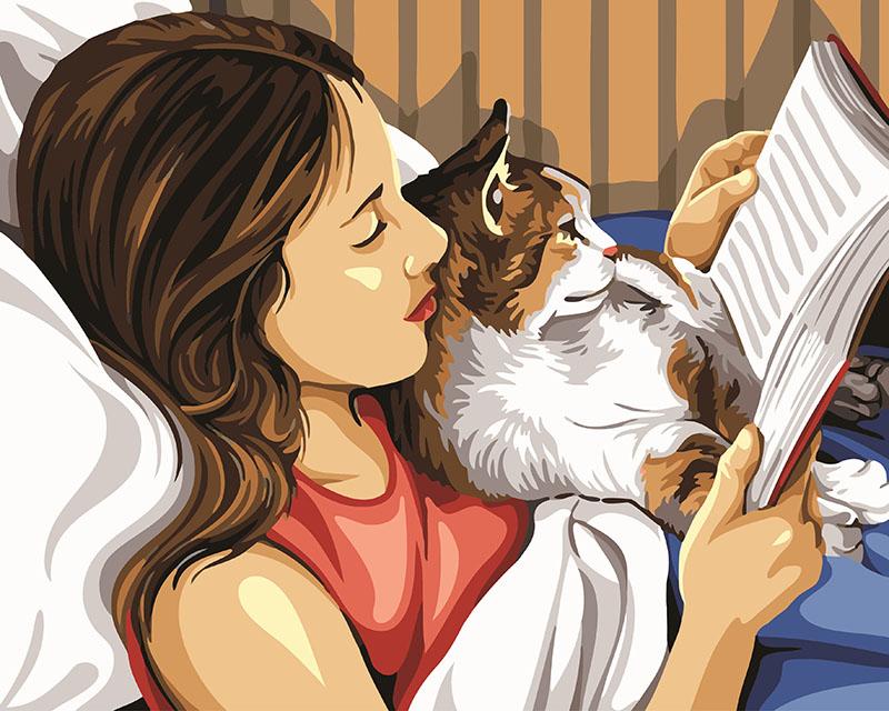 Чтение с кошкой - GX24166