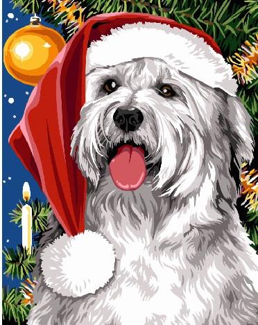 Новогодняя собака - GX24156
