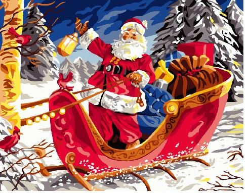 Санта в санях - GX24075