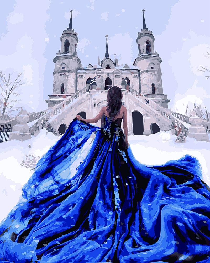 Принцесса у зимнего замка - GX26280
