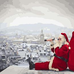 Санта не дремлет - GX26273