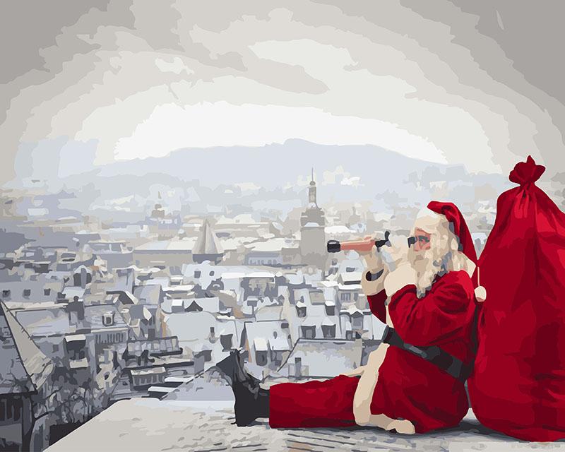 Санта не дремлит - GX26273