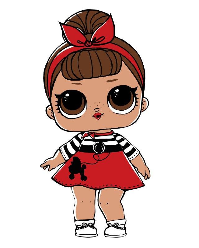 Купить картину: Кукла ЛОЛ, MEX6426 | Brushme — Картины по ...