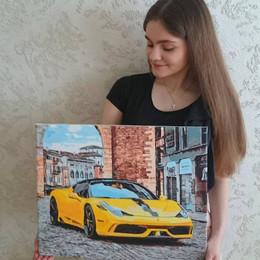 Картина по номерам Brushme - olga_yezhakova