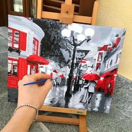 Картина за номерами Brushme - alinagrosu25